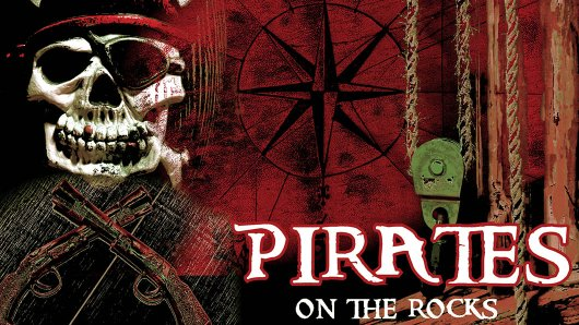 Pirates on the rocks escape room theme