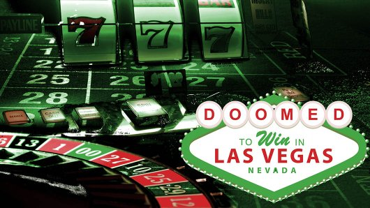 Doomed to Win in Vegas escape room theme